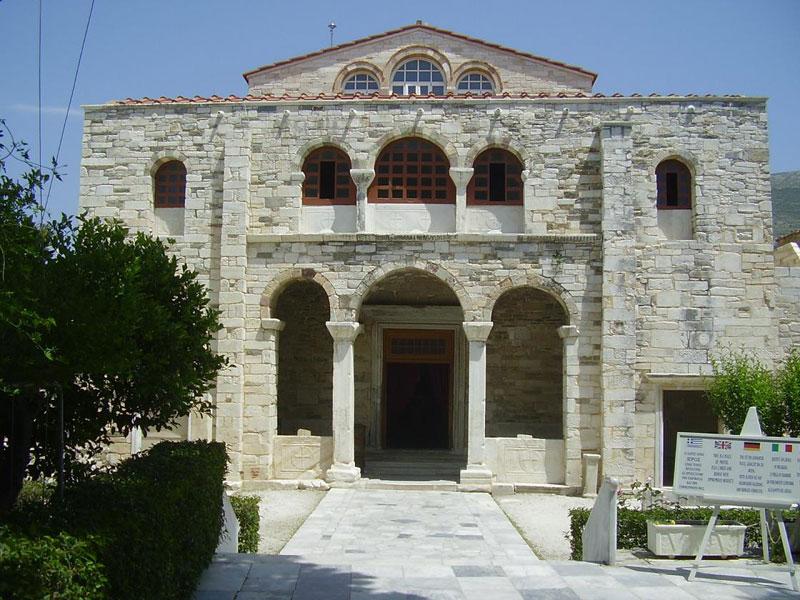 Panos Studios in Paros just 150m from Ekatontapiliani Church