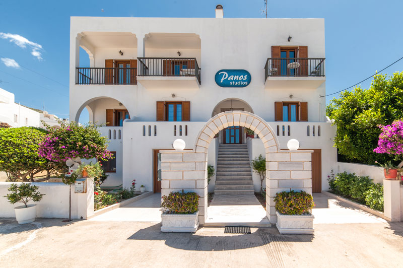 Panos Studios is open all over the year in Paros.
